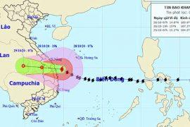 [CẬP NHÂT] Thông tin | thiệt hại| của bão số 9 ngày 28/10