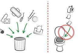 8 thứ không nên vứt vào đường cống để tránh gây tắc nghẽn nhà vệ sinh